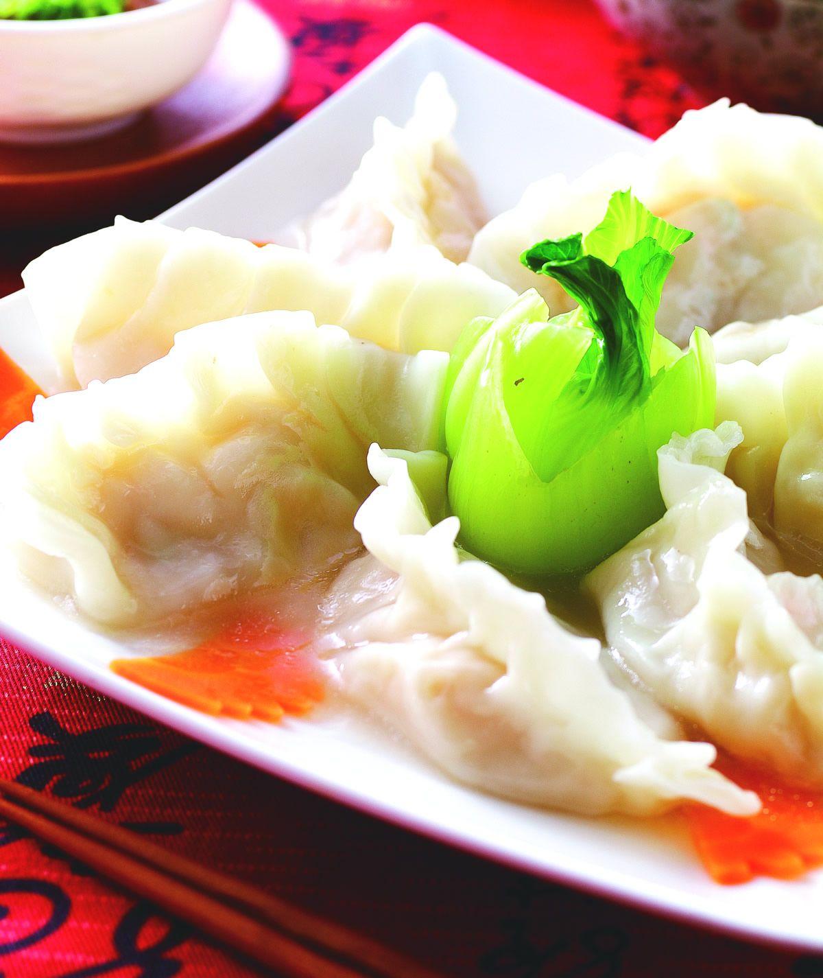 食譜:干貝鮮蝦元寶