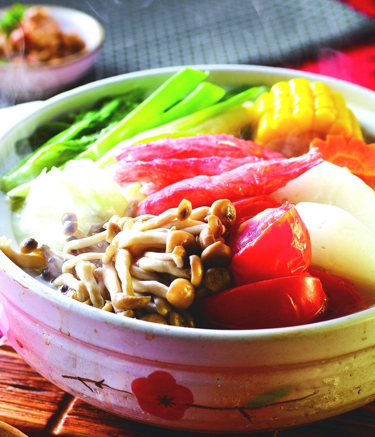 食譜:什錦蔬食圍爐鍋