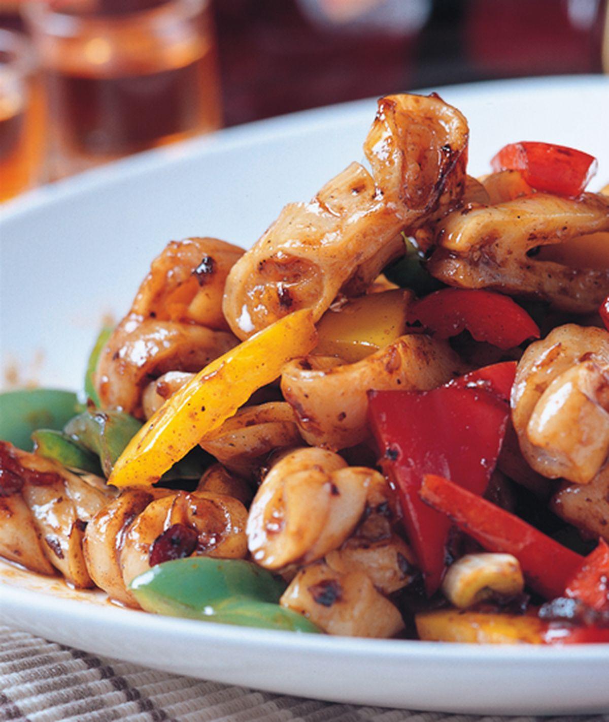 食譜:豉椒炒生腸