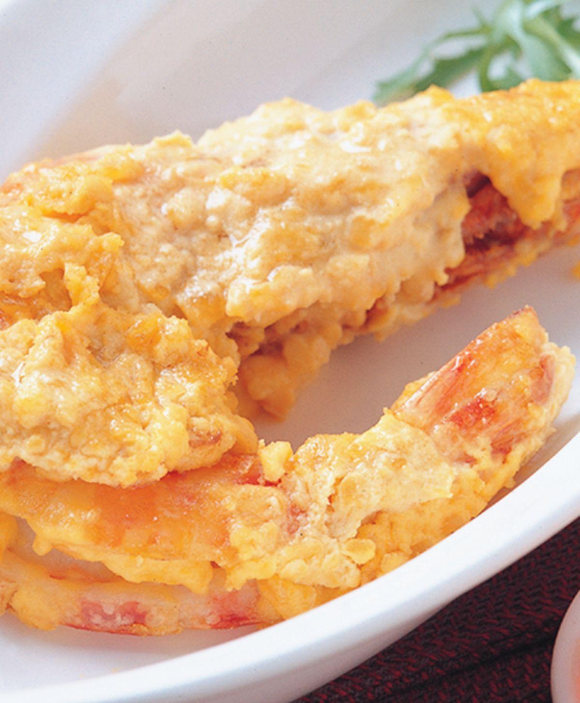 食譜:黃金大明蝦
