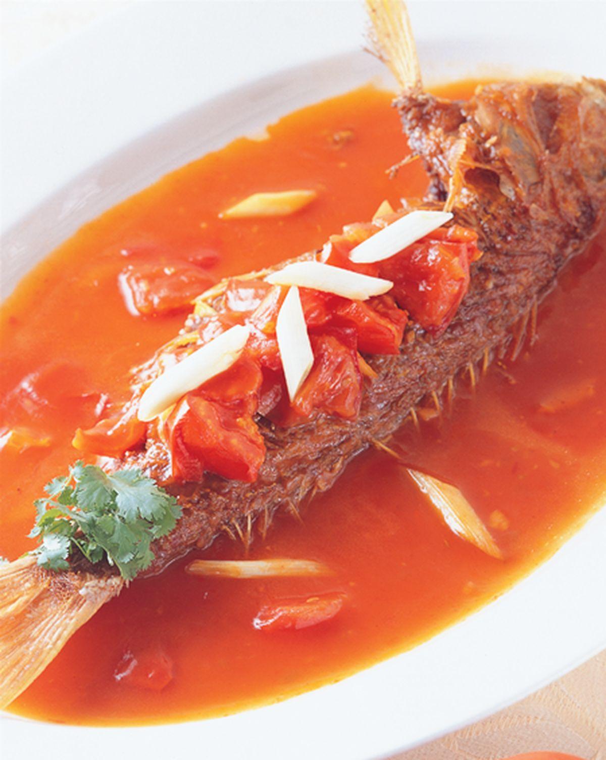食譜:蕃茄紅衫魚