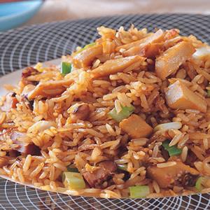 金蔥鮑魚粒炒飯