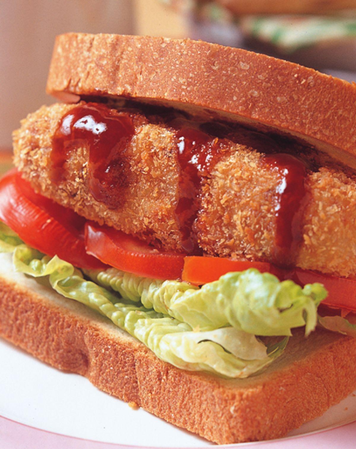 食譜:可樂餅三明治
