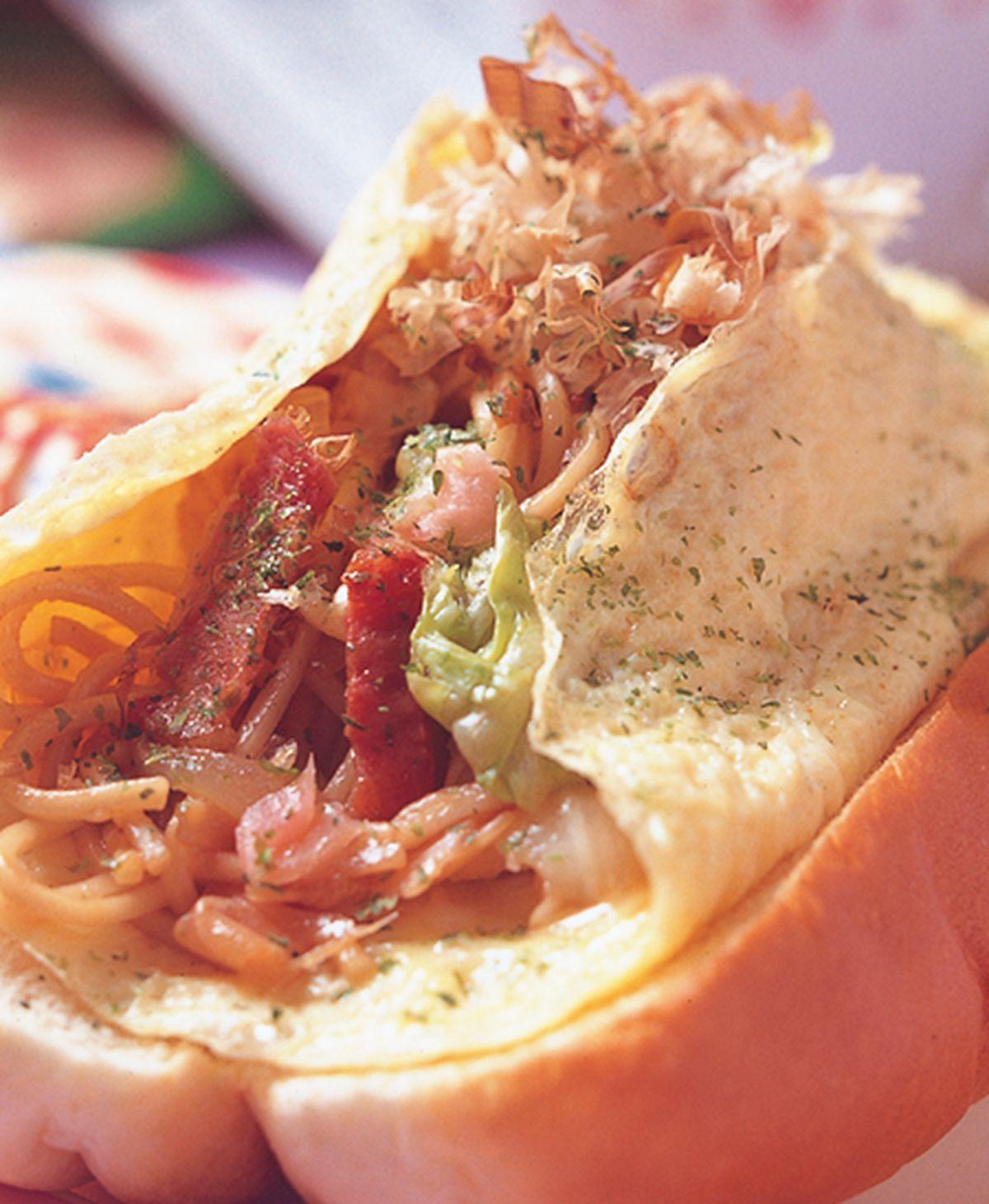 食譜:燒麵夾堡