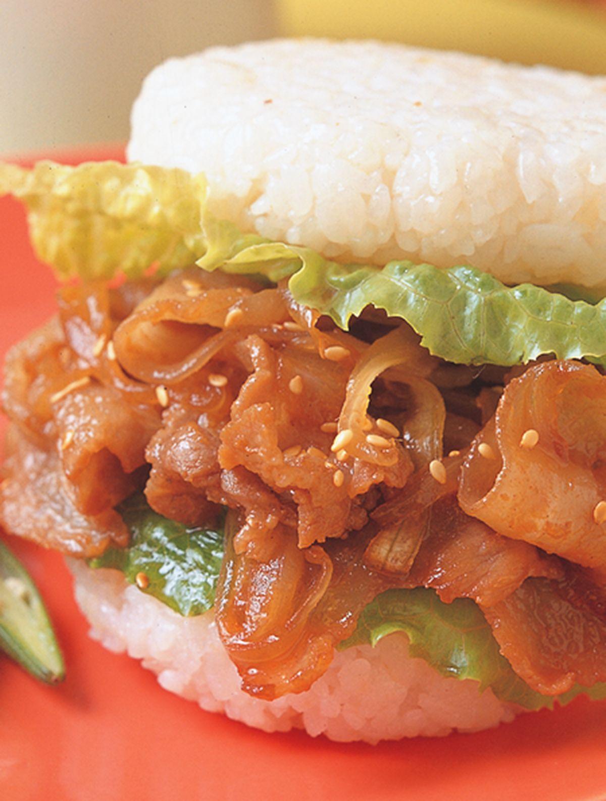 食譜:薑汁燒肉珍珠堡