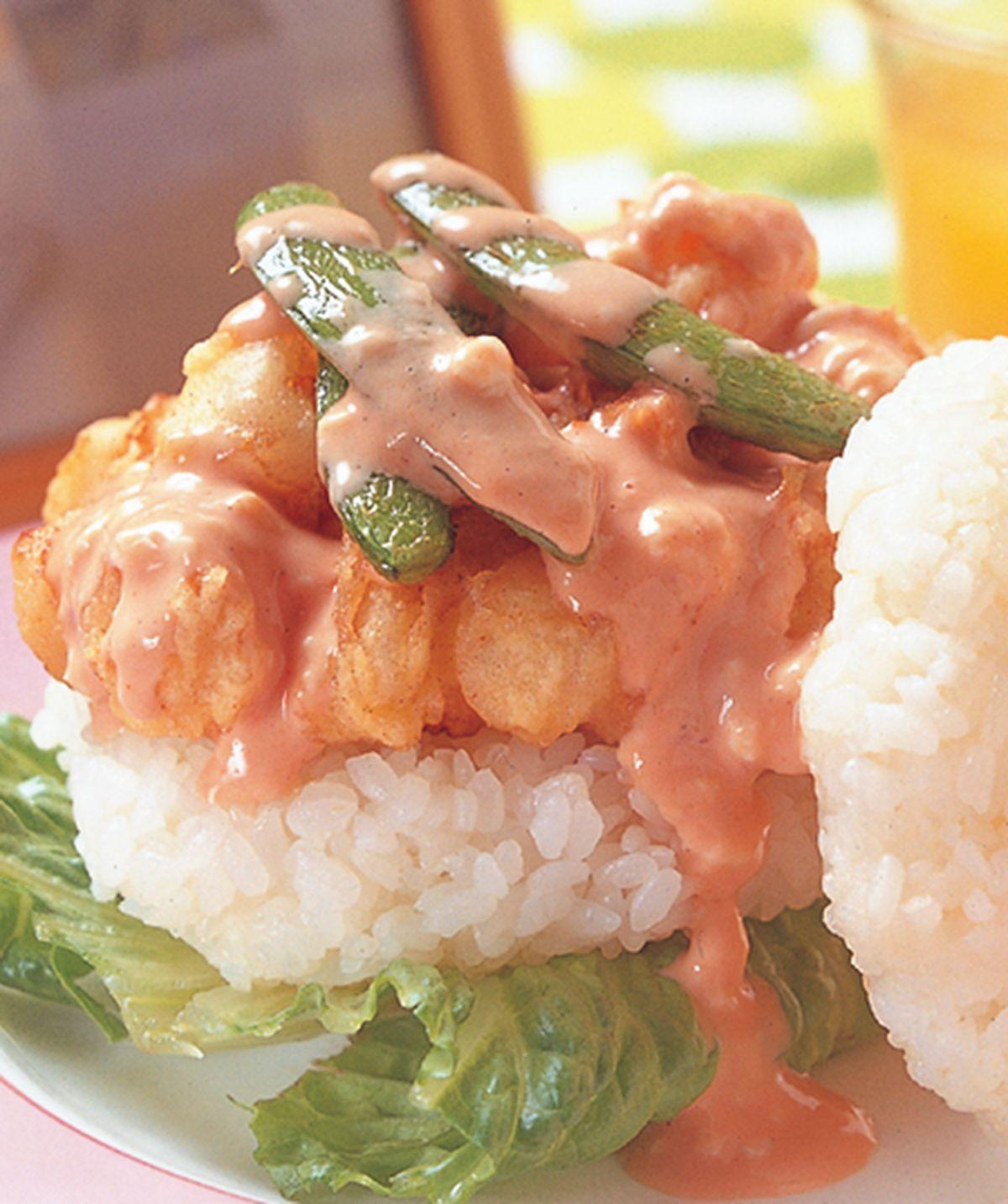 食譜:干貝珍珠堡