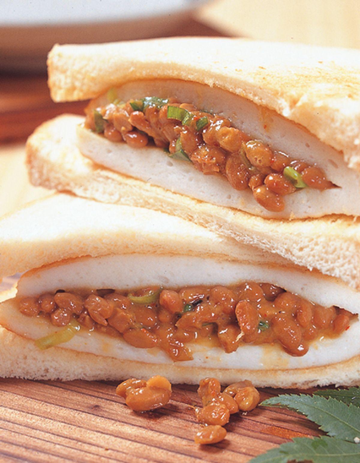 食譜:納豆三明治