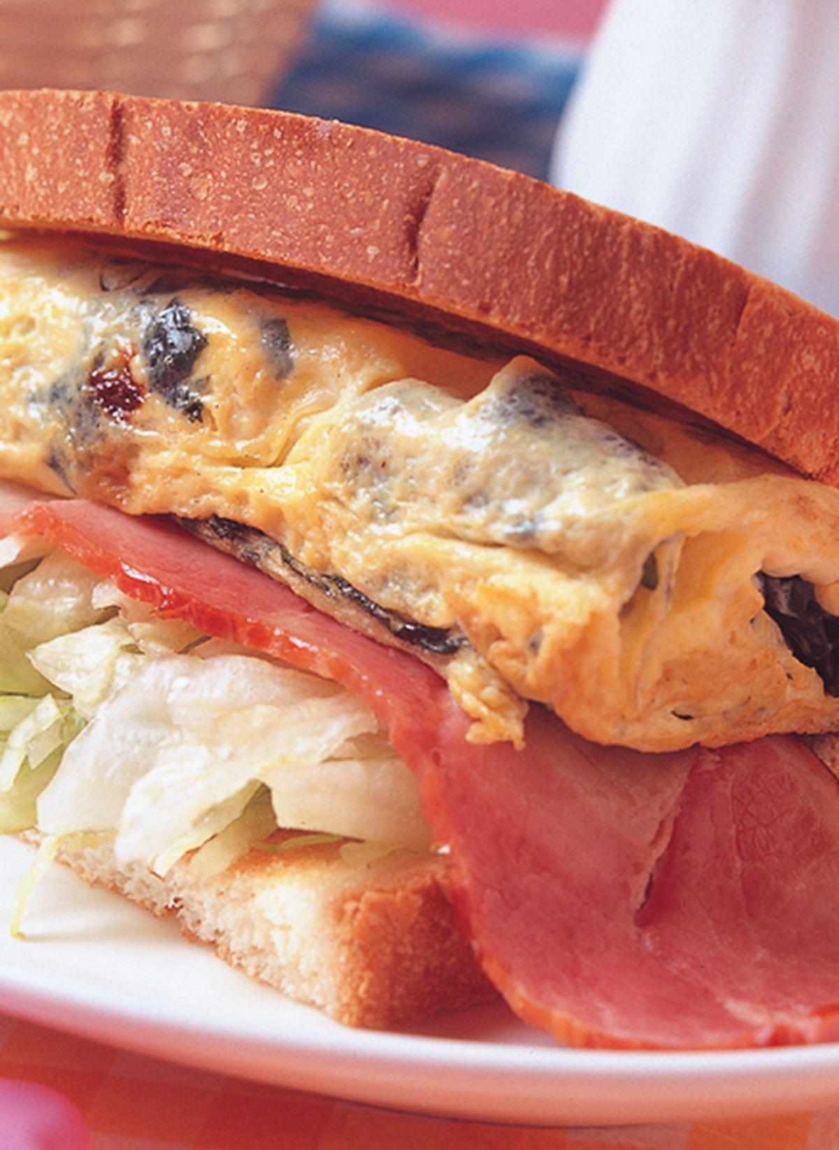 食譜:蛋海帶芽三明治