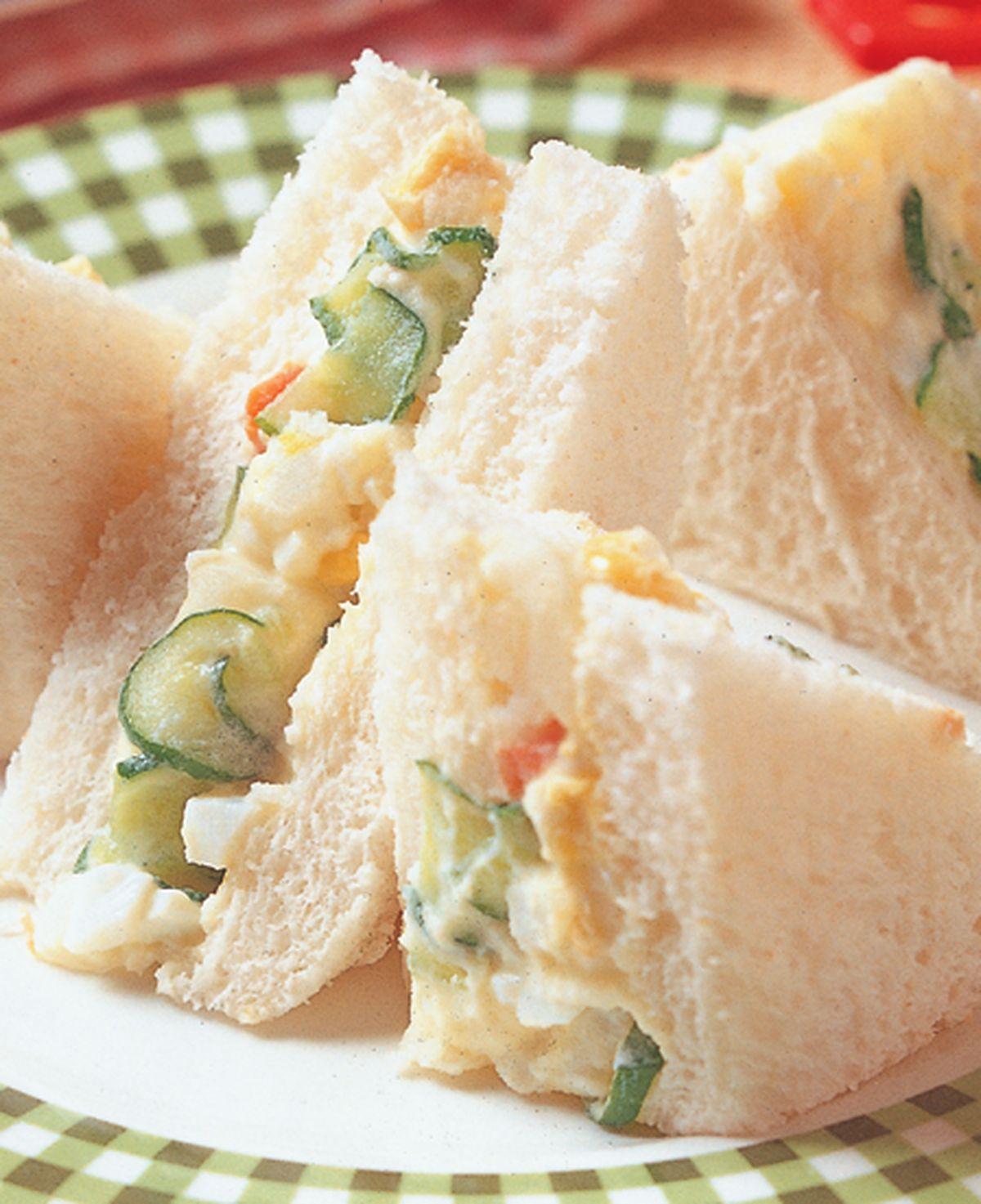 食譜:馬鈴薯沙拉三明治