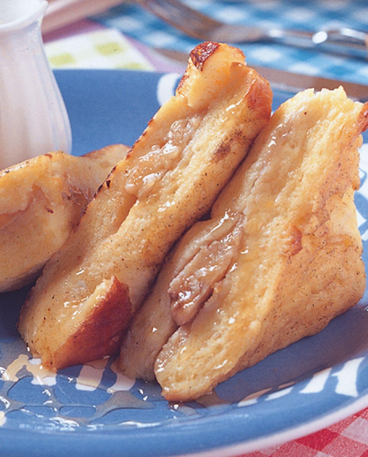 食譜:黃金香蕉三明治