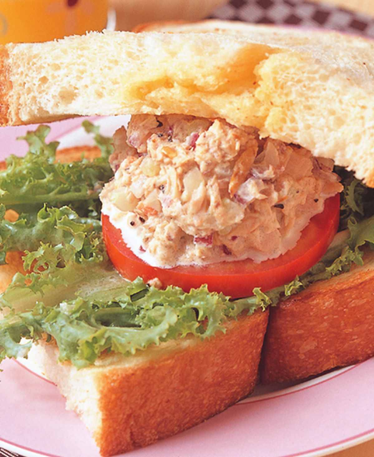 食譜:鮪魚鮮奶三明治