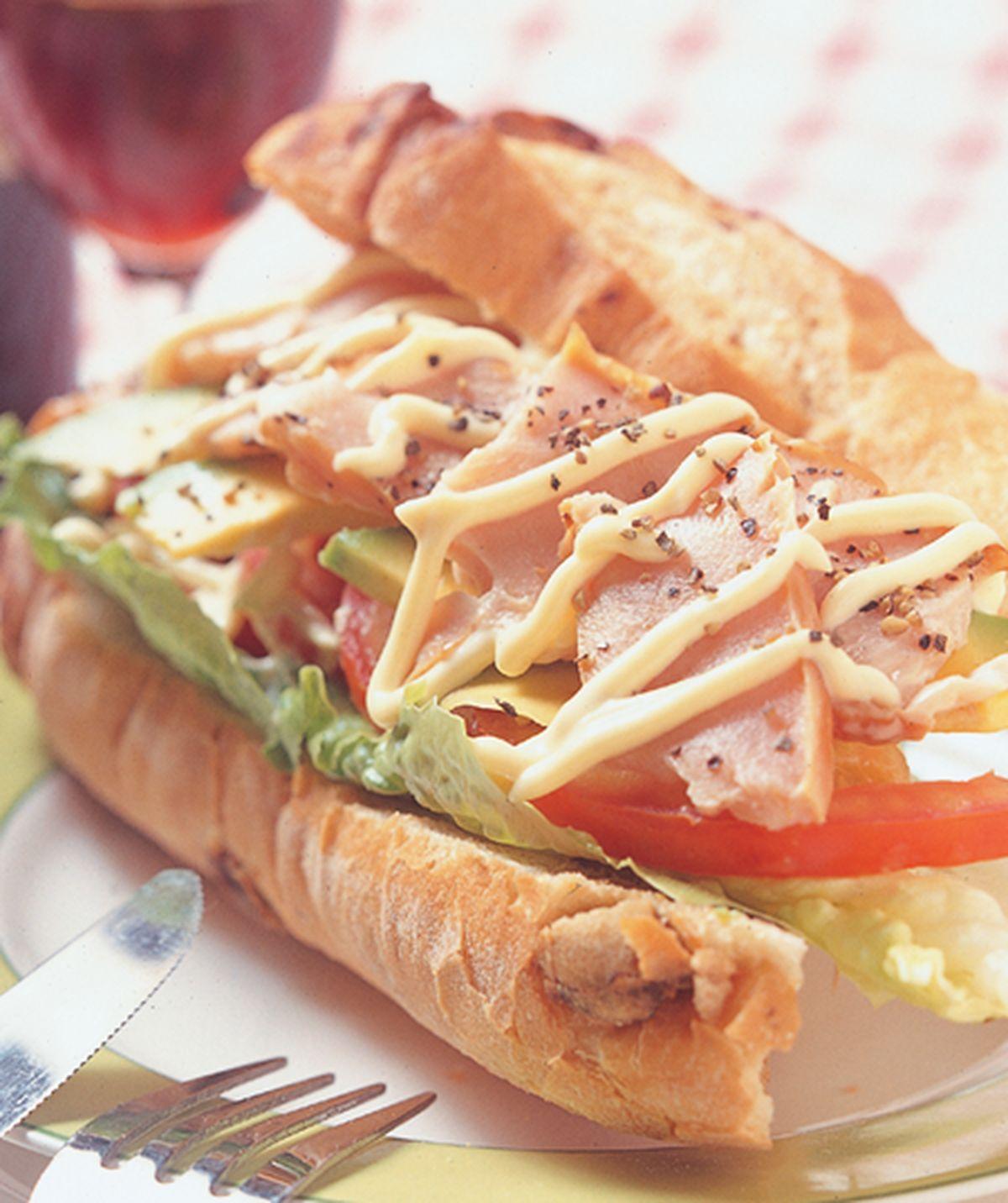 食譜:燻雞三明治