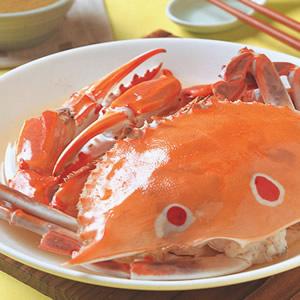 果泥清蒸蟹