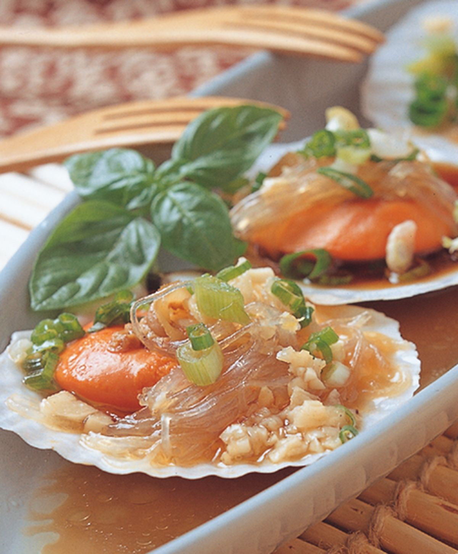 食譜:粉絲蒸扇貝