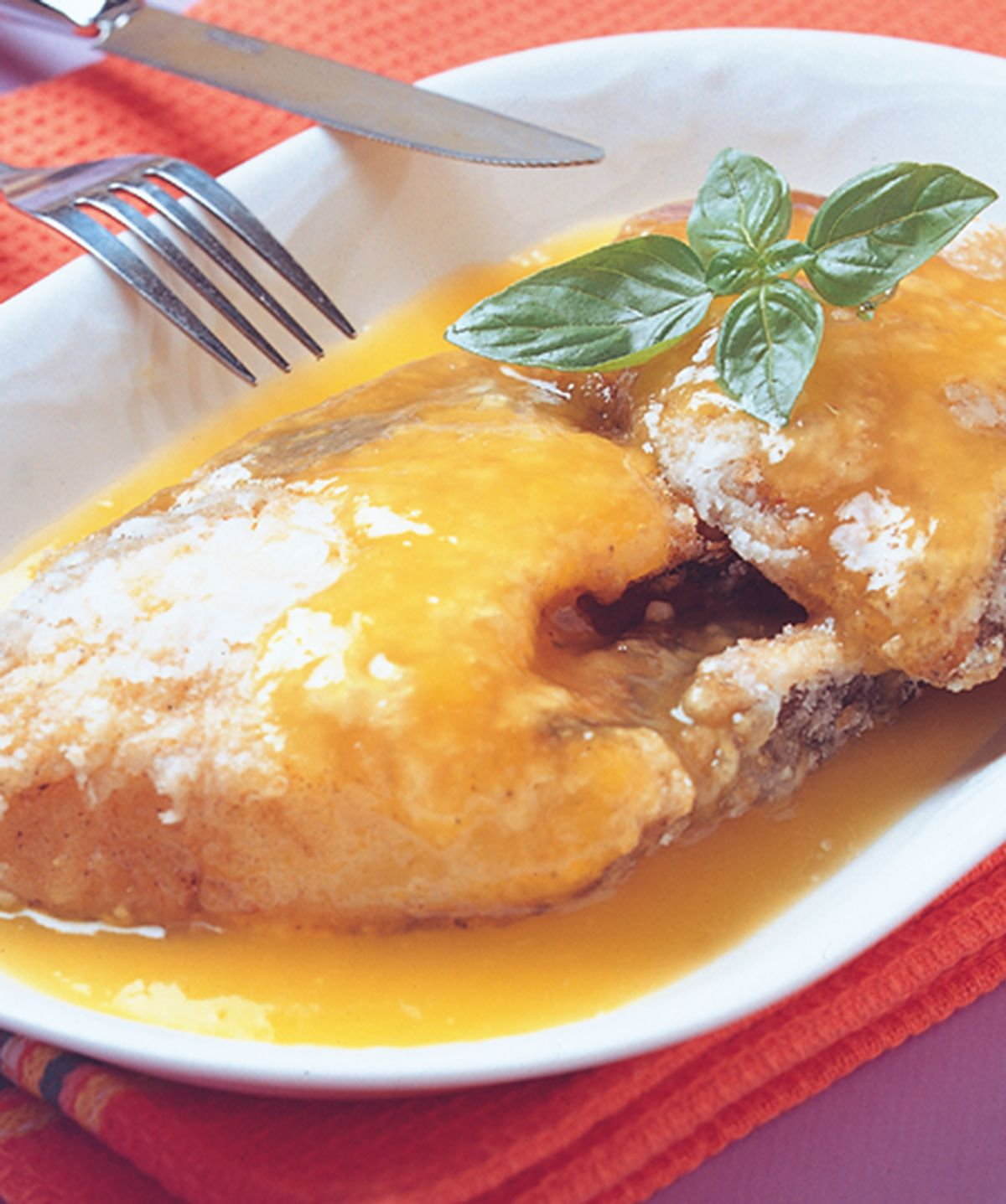 食譜:香橙鱈魚