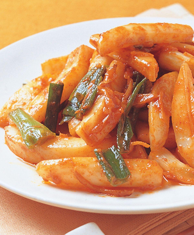 食譜:辣醬墨魚