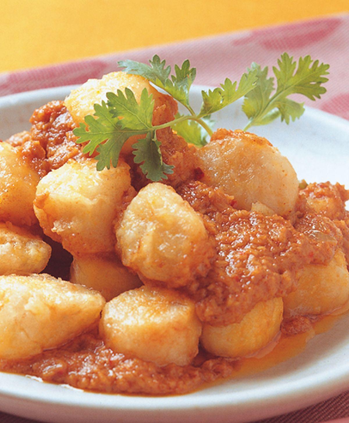 食譜:辣椰醬鮮干貝