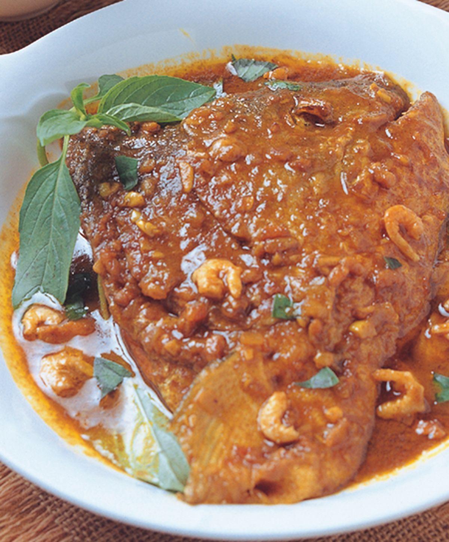 食譜:咖哩魚頭(1)