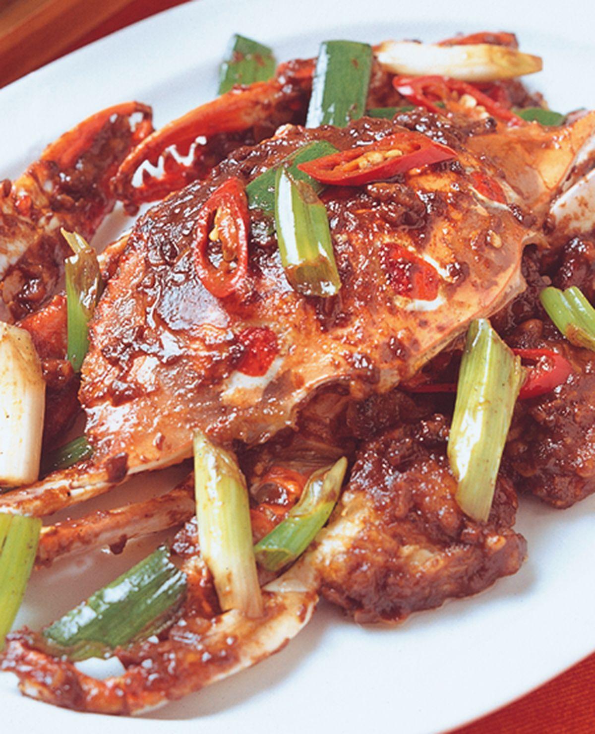 食譜:蠔醬爆花蟹