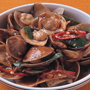 蠔醬炒蛤蠣