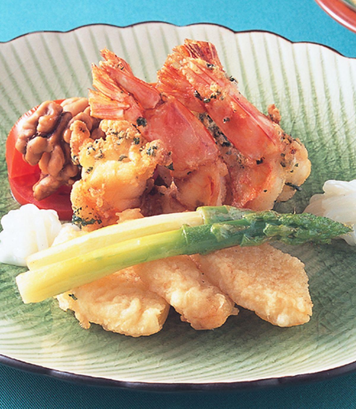 食譜:鳳梨香蝦球