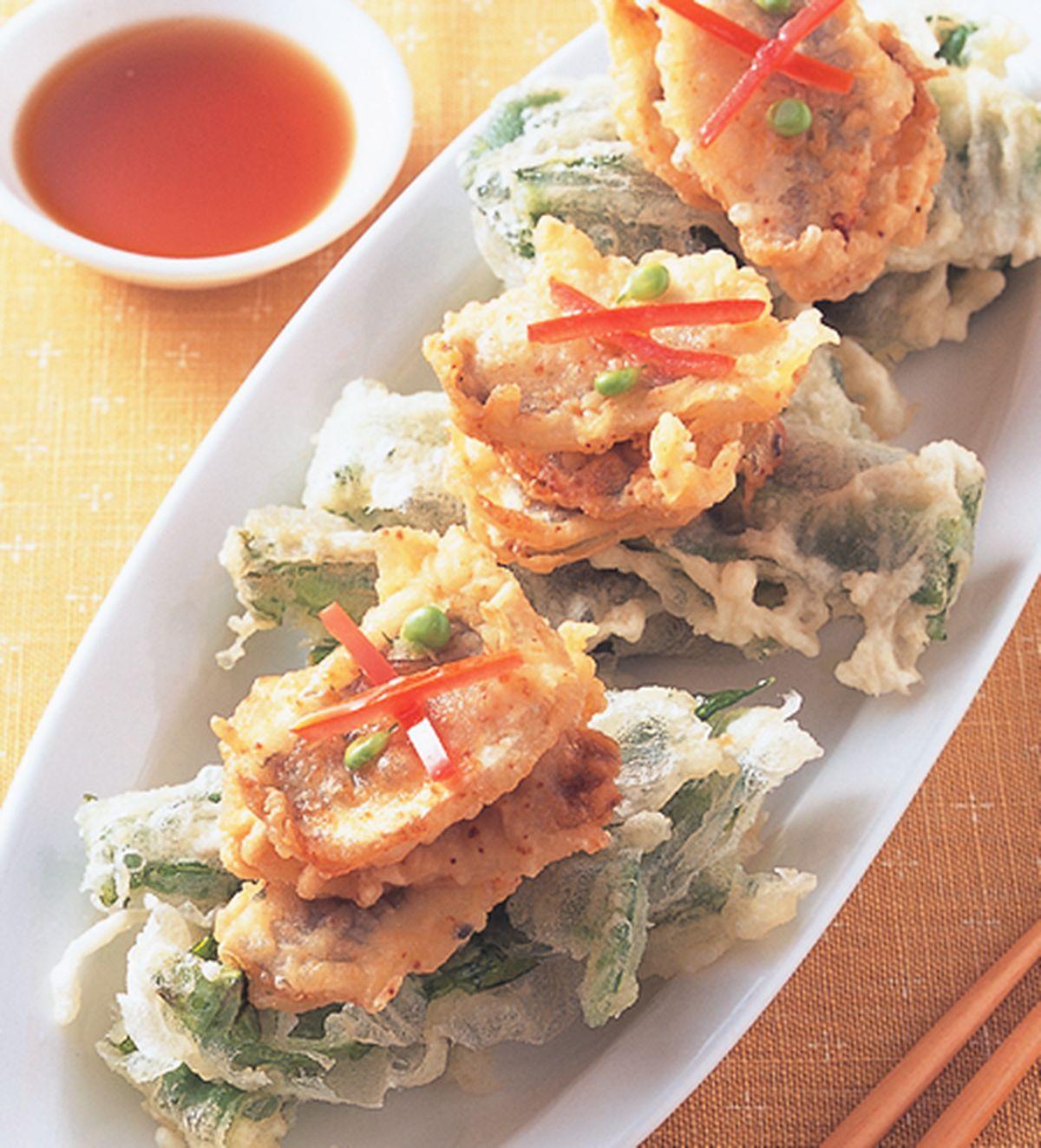 食譜:酥炸竹莢魚